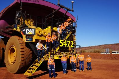 Autonomous trucks arrive on time at BHP's Newman East mine
