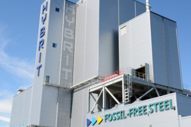 SSAB, LKAB and Vattenfall start up world's first pilot plant for fossil-free steel