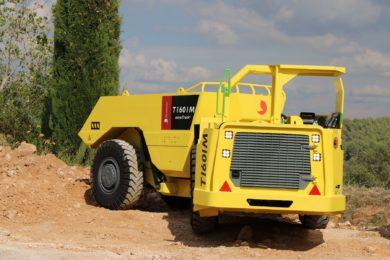 Aramine offers last production run of its workhorse T160M mechanical underground truck
