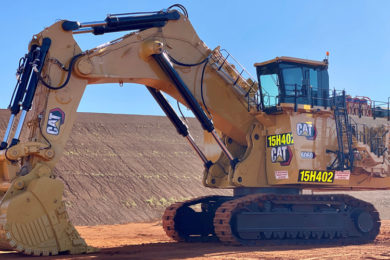 First Next Generation Cat® 6060 mining shovels delivered to Rio Tinto