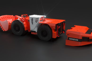 Sandvik and Artisan reveal new 18 t battery-electric LHD