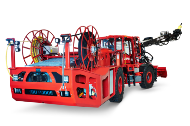 Jama produces innovative battery-powered underground mining scaler
