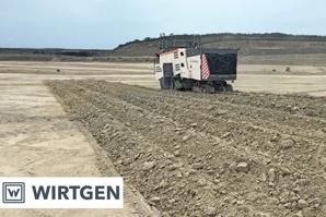 Wirtgen 220 SMi 3.8 Surface Miner – high-performance chalk mining in France