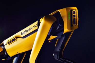 LKAB deploys Boston Dynamics robotic dog Spot® for safe inspection of damaged mine areas