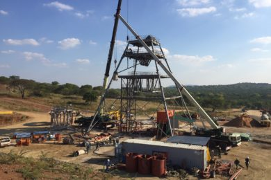 Caledonia Mining heads for Central Shaft commissioning at Blanket gold mine