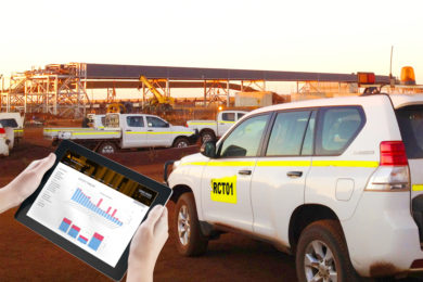 RCT on monitoring light vehicle fleets in mining for improved efficiencies