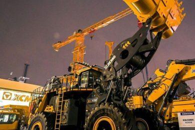 XCMG launches 35 t payload large electric drive wheel loader at Bauma China