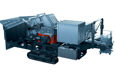Metso Outotec rolls out new Lokotrack models for soft ore equipped with Komatsu sizer technology
