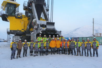 Komatsu P&H 2300XPC commissioned at Pavlik Gold in Russia's Far East