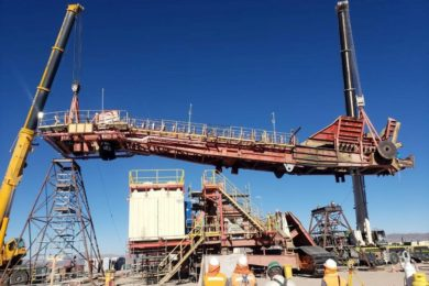 TAKRAF achieves major bucketwheel refurb milestone at Chilean copper mine