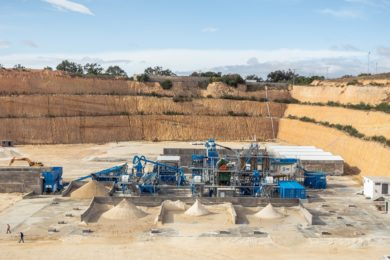SOMEVAM to add second CDE wet processing plant in Tunisia