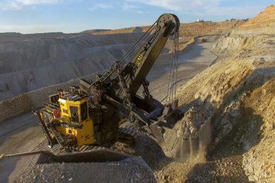Komatsu says its 2650CX Hybrid Shovel can help mining customers reach environmental goals