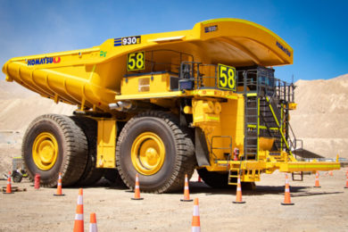 Glencore's Lomas Bayas is first mine in Chile to deploy Komatsu 930-5 haul truck fleet