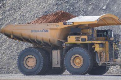 Antofagasta's Minera Centinela opts for fleet of 11 Komatsu 980E-5 autonomous trucks for Esperanza Sur
