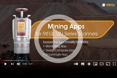 VIDEO: Mining Apps for RIEGL VZ-i series Scanners