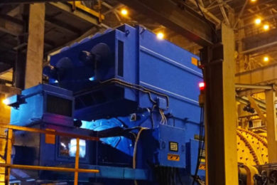 Brazil's WEG installs SAG and ball mill slip ring motors at Polyus Gold's Natalka mine in Russia's Magadan region