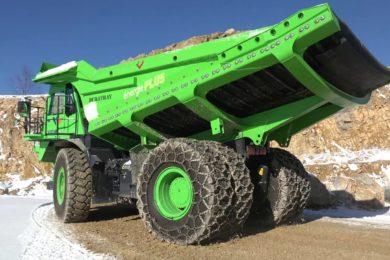 eDumper battery electric haul truck developer eMining acquired by Lithium System AG from partner Kuhn Schweiz