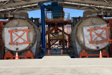 Kal Tire's mining tyre recycling facility in Chile nears full start-up as Los Pelambres copper mine provides initial batch of 2,300 t