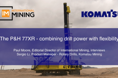 The P&H 77XR – combining drill power with flexibility