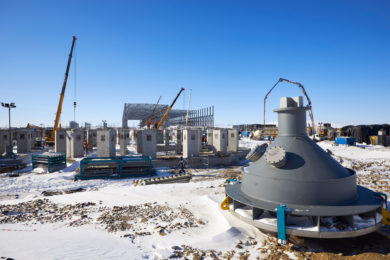 Udokan Copper starts installation of bulk concentrate thickeners, EW facility and belt conveyors