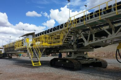 TNT gets order for two new Super Portable® mobile stacking conveyors from US copper mine