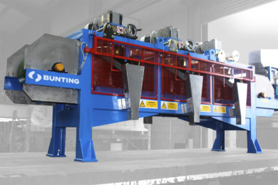 Bunting gets Nigerian order for two Magnetic Disc Separators to be used in coltan processing