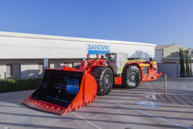 Sandvik delivers 100th automated loader in APAC region