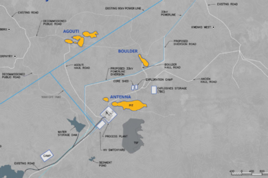 Roxgold Séguéla Gold Project FS envisages average of 133,000 oz/y for first six years