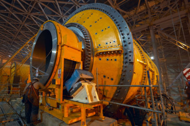 Udokan Copper installs sixth and final Metso Outotec mill in 12 Mt/y plant