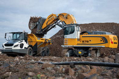 Liebherr's R 976-E and R 980 SME-E set a new bar for smaller electric mining excavators
