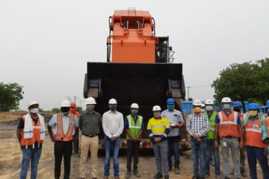Indian contract mining major Thriveni starts in-house electrification of diesel mining excavator fleet