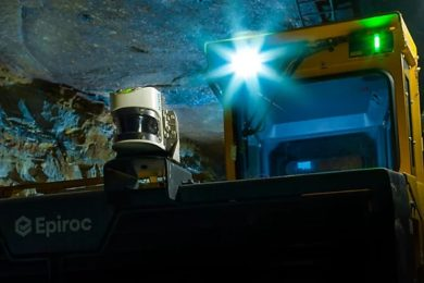 Epiroc's Minetruck Automation solution gets going with MT42