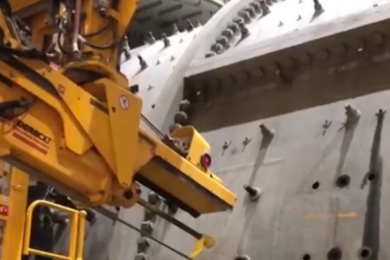 RME set to revolutionise mill liner maintenance again with THUNDERBOLT SKYWAY semi-automated worn bolt removal system