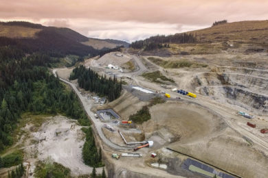 Osisko Development achieving hard rock cutting results with Sandvik MT720 roadheader plus more positive ore sorting testwork