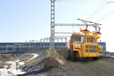Sakhalin's East Mining Company and BELAZ collaborate on trolley assist 220 t truck fleet for Solntsevsky coal mine