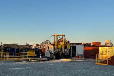 Master Drilling progressing with ventilation holes at Newmont Tanami