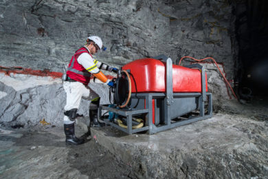 BME putting its stamp on underground mining including low profile platinum operations