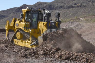 Cat's new D9 dozer set for mining market splash