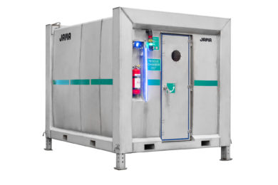 Sweden's Jama introduces new MRC 2 state of the art mobile underground mining rescue chamber