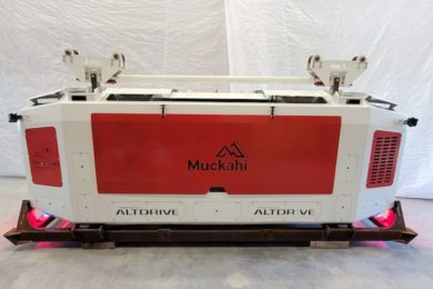 MEDATech on a battery-electric locomotive for precision mining