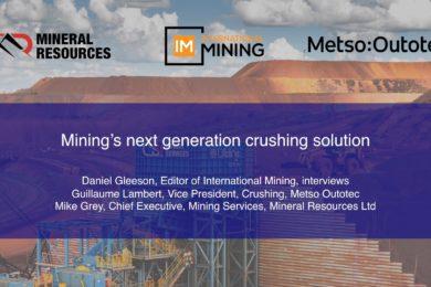 Mining's next generation crushing solution