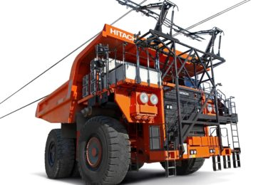 Hitachi & ABB sign deal to build next generation all electric trolley assist truck with on-board battery charging