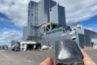 HYBRIT partners produce world's first hydrogen-reduced sponge iron