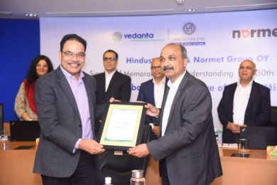 Hindustan Zinc continues pioneering underground electrification journey with commitment to introduce Normet BEVs