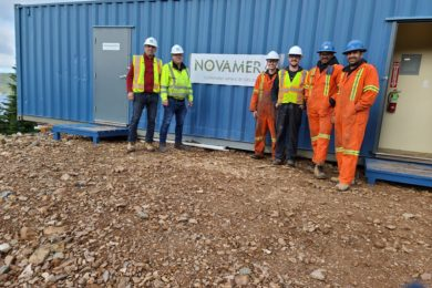 Novamera finds funds for first full field trial of Sustainable Mining by Drilling tech