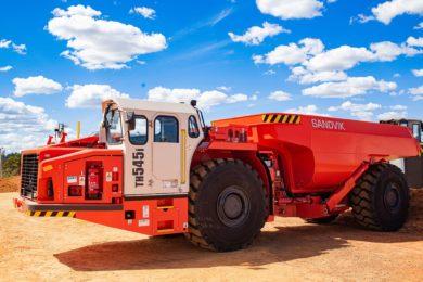 Sandvik's i-series truck set to start work at OZ Minerals' Pedra Branca