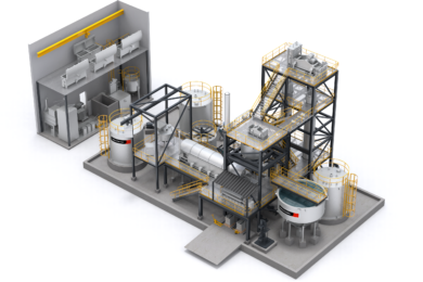Metso Outotec takes elution and goldroom stage modular and compact