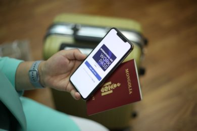 Rio Tinto chartered flight from South Africa to Mongolia's Oyu Tolgoi first to have 100% passengers with Digital Health Pass