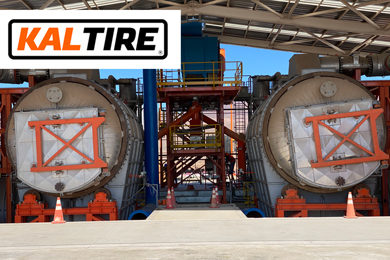 Kal Tire leads the way in solving the challenge of scrap mining tyres