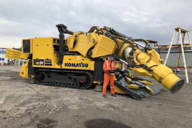 Komatsu and Vale's DynaCut Garson collaboration to be highlighted at MINExpo
